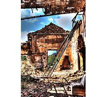 Dilapidated Photographic Print