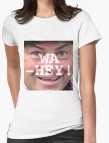 Wa-Hey! Wheeler Dealers Mike Brewer Tee Womens Fitted T-Shirt