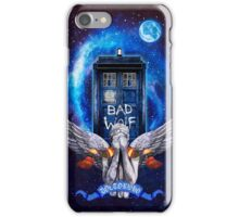 The Angel with time travel Box iPhone Case/Skin
