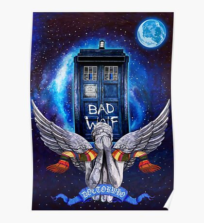 The Angel with time travel Box Poster
