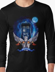 The Angel with time travel Box Long Sleeve T-Shirt
