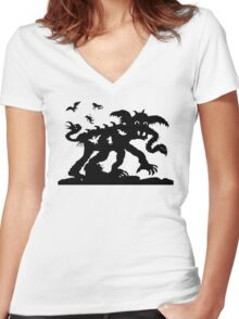 Lotte Reiniger The Adventures of Prince Achmed Women's Fitted V-Neck T-Shirt
