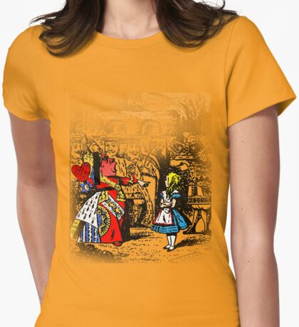 Red Queen  Womens Fitted T-Shirt
