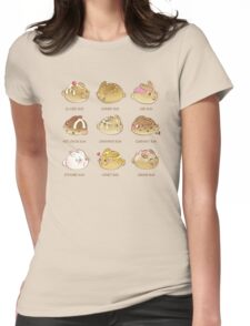 Fresh Fluffy Buns Womens Fitted T-Shirt