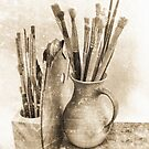 Artist´s Brushes by Madeleine Forsberg
