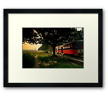 Kolkata Morning Framed Print