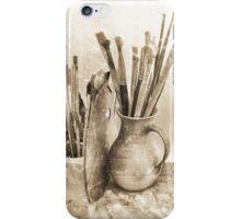 Artist´s Brushes iPhone Case/Skin