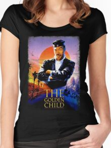 The Golden Child Women's Fitted Scoop T-Shirt