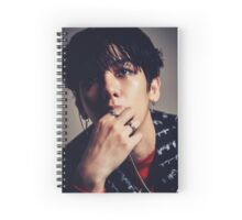 baekhyun monster Spiral Notebook