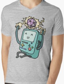 BMO loves D&D Mens V-Neck T-Shirt