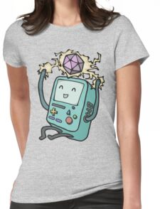 BMO loves D&D Womens Fitted T-Shirt