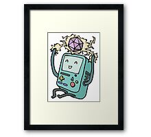 BMO loves D&D Framed Print