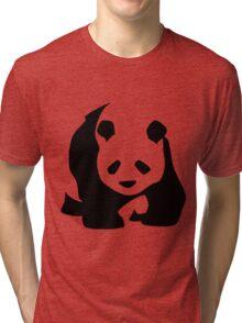 Panda 2 Tri-blend T-Shirt