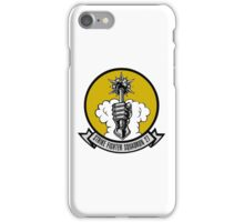 VFA-27 Royal Maces Patch iPhone Case/Skin