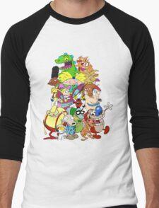 Nick Friends! Men's Baseball ¾ T-Shirt