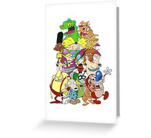 Nick Friends! Greeting Card