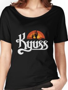 Kyuss Logo Women's Relaxed Fit T-Shirt
