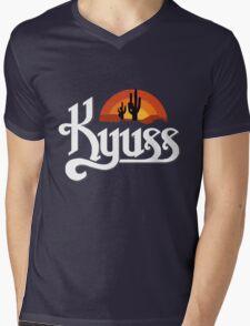 Kyuss Logo Mens V-Neck T-Shirt