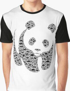 Panda 3 Graphic T-Shirt