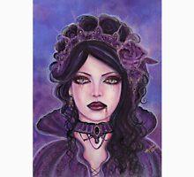 Gothic victorian vampire woman by Renee Lavoie Unisex T-Shirt