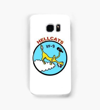 VFA-9 Hellcats Patch Samsung Galaxy Case/Skin