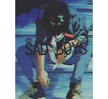 S A D B O Y S #2 Photographic Print