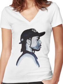 ASAP Rocky Women's Fitted V-Neck T-Shirt