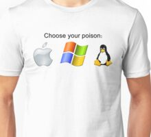 """Choose your poison"" - Bright Unisex T-Shirt"