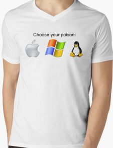 """Choose your poison"" - Bright Mens V-Neck T-Shirt"