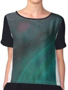 Space, Stars, Planets Chiffon Top