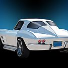 63 Vette Rear-End VivaChas Story Illustration by ChasSinklier