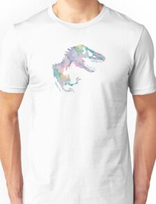 Watercolor Jurassic (white)  Unisex T-Shirt