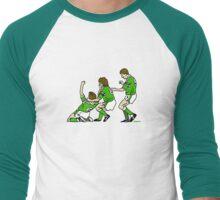 Euro 88 - Ronnie's Shin Dig Men's Baseball ¾ T-Shirt