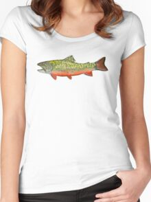 Brook Trout  Women's Fitted Scoop T-Shirt
