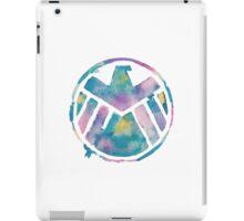 Watercolor S.H.I.E.L.D. (white)  iPad Case/Skin
