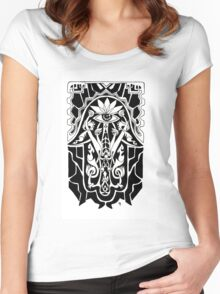 Hamsa Women's Fitted Scoop T-Shirt