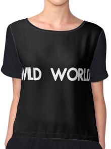 BASTILLE - WILD WORLD Chiffon Top