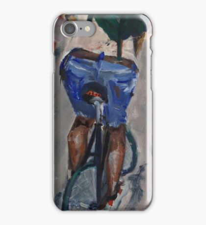Cyclist iPhone Case/Skin