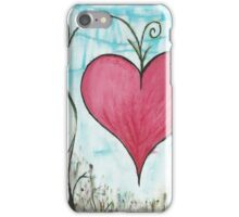 Growing a Garden of Love iPhone Case/Skin