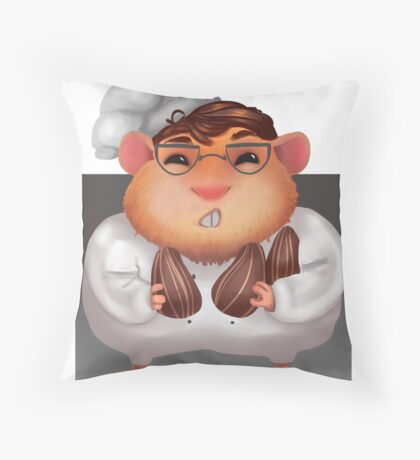 Ham Chef Throw Pillow