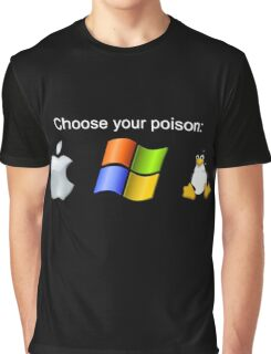 """Choose your poison"" - Dark Graphic T-Shirt"