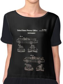 Batmobile Car Patent 1966 Chiffon Top
