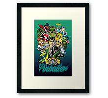 Pinballer Framed Print