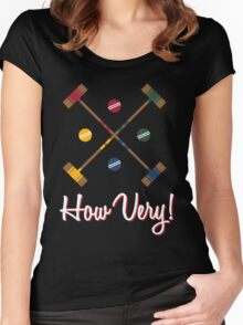 How Very! Women's Fitted Scoop T-Shirt