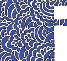 Blue j Sticker