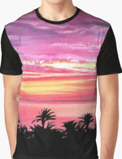 Pink Paradise Graphic T-Shirt