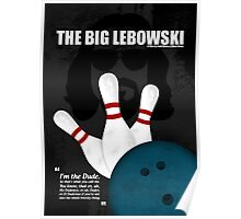 The Big Lebowski - Minimal Movie Poster Poster