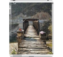 Cross a bridge today! iPad Case/Skin