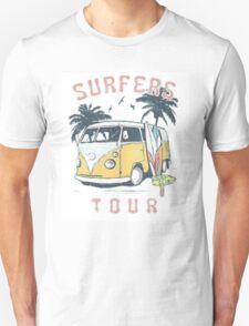 Surfers Tour Unisex T-Shirt