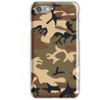 Cool Modern Camouflage Camo Design iPhone Case/Skin